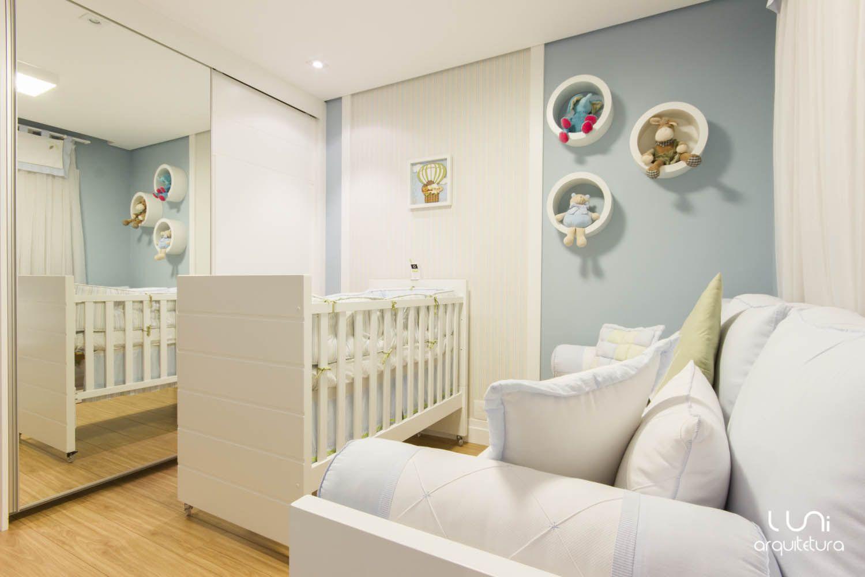 Quarto De Beb Projetado Por Nosso Escrit Rio Luni Arquitetura  ~ Pintura Quarto De Bebe Menino E Quarto De Jovem Masculino