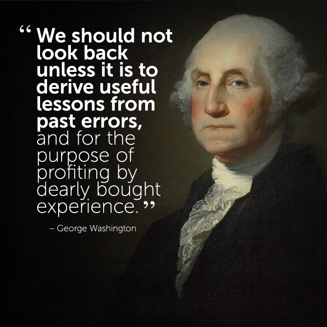 motivational #inspirational #quote by George Washington | Theory