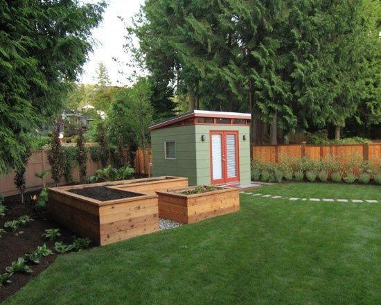 Kleine Ecke Gartengestaltung, Bilder, Umgestaltung, Dekor