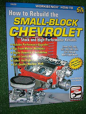 How To Rebuild The Small Block Chevrolet Chevy V8 Engine Manual Book 262 400ci Books Collections Lots Chevy Chevrolet Engineering