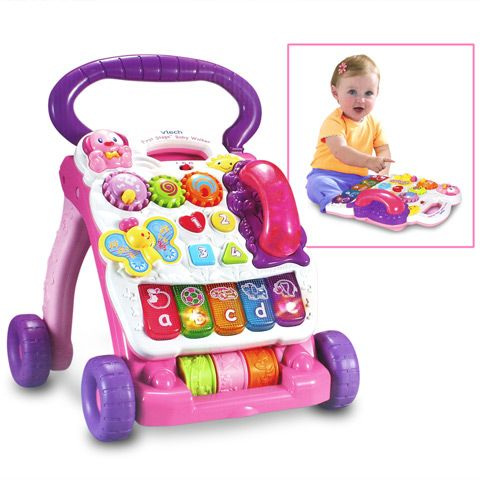 Details about  VTech First Steps Musical//Activity Baby Walker.