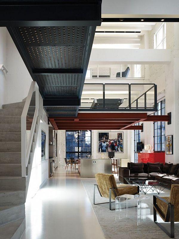 Modern Chicago loft interior design | Pinterest | Ideen