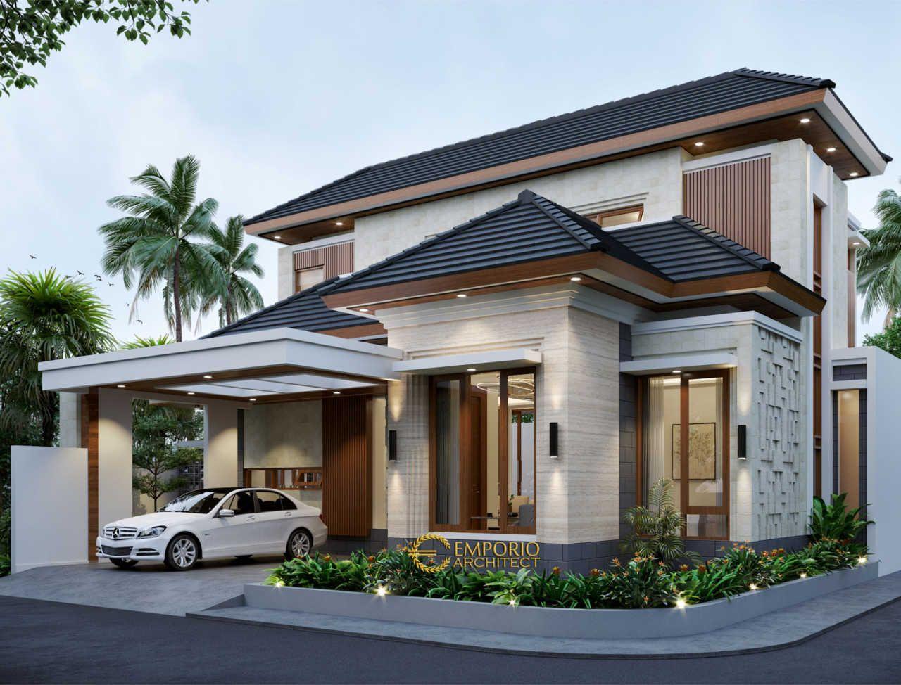 Desain Rumah Modern 2 Lantai Ibu Frieza Di Jakarta Jasa Arsitek Desain Rumah Berkualitas Desain Villa Bali Mo Desain Rumah Eksterior Arsitektur Desain Rumah