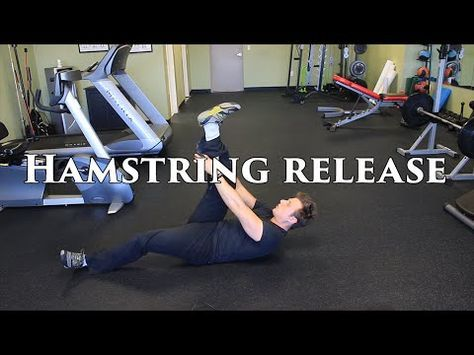 the best way to release tight hamstrings  hamstring