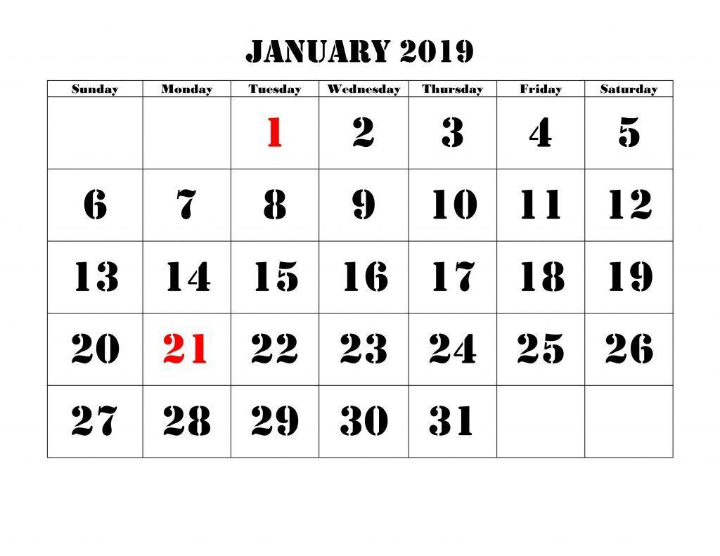 Countdown To Christmas 2019 Schedule 2019 January Christmas Countdown Calendar #Printable | Blank 2019