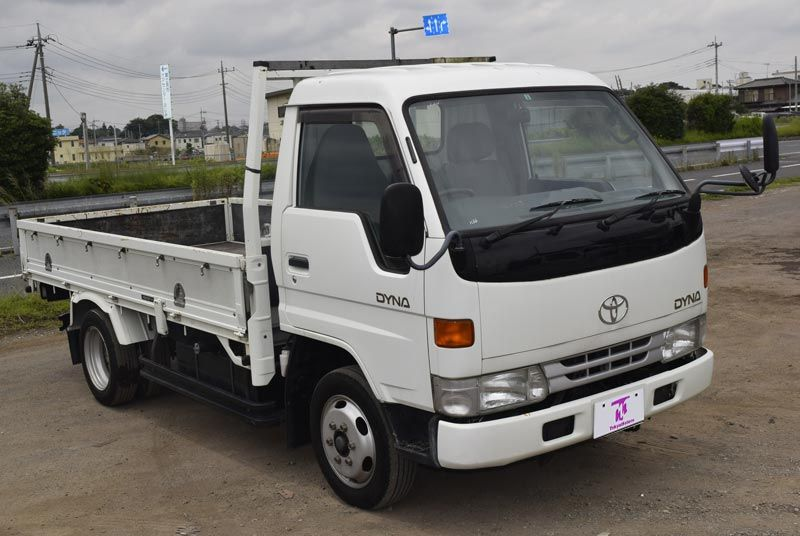 1997 Toyota Dyna White For Zimbabwe Stock No Tm1130803