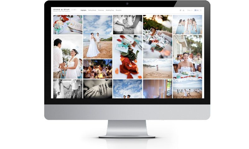 pixieset com :: client gallery (free option) with ability to