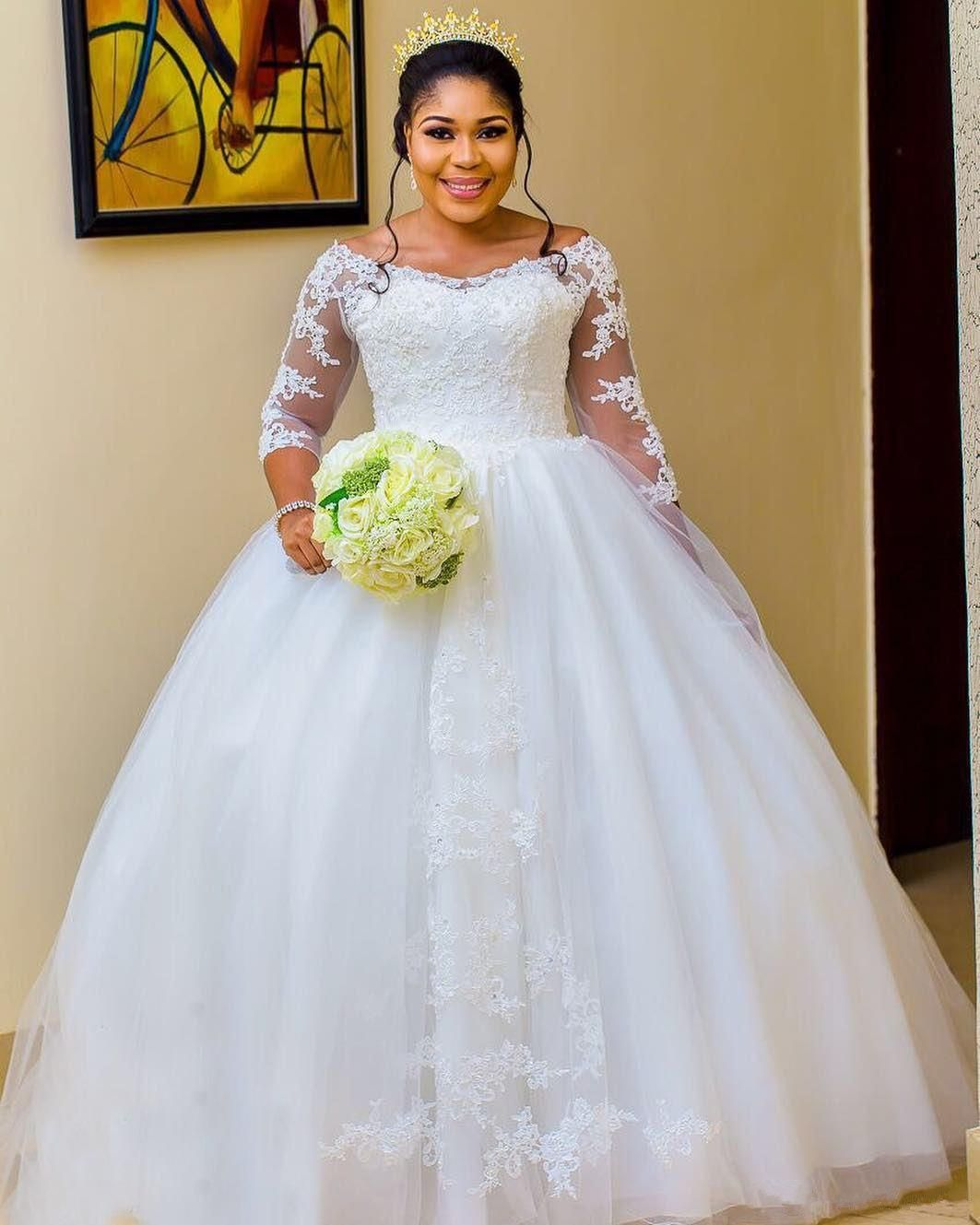 18++ Plus size long sleeve wedding dress ball gown ideas in 2021