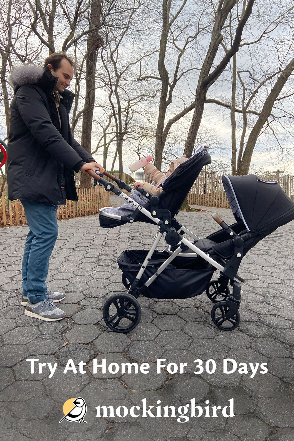 Mockingbird S 30 Day Risk Free At Home Trial Lets You Feel Confident This Stroller Works For You In 2020 Baby Strollers Smart Baby Products Stroller