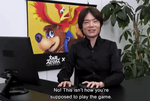 No This Isn T How You Re Supposed To Play The Game Masahiro Sakurai In 2021 Funny Jokes Know Your Meme Memes