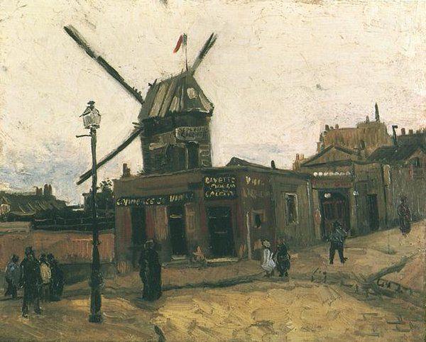 Le Moulin de la Galette Autumn 1886 Oil on canvas Otterlo, Kröller-Müller Museum