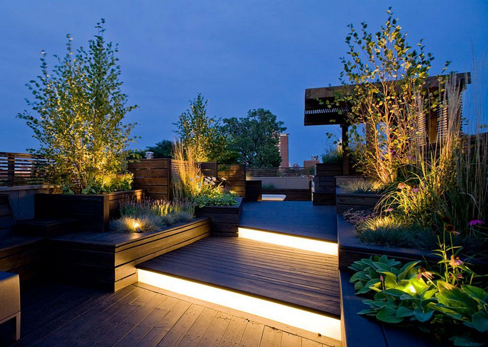 Deck Lighting Ideas That Bring Out The Beauty Of The Space Roof