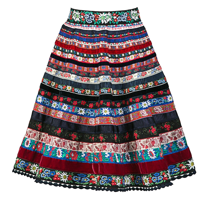 Bänderrock Alpenglühen - Ribbon Skirts - Online Shop - Lena Hoschek ...