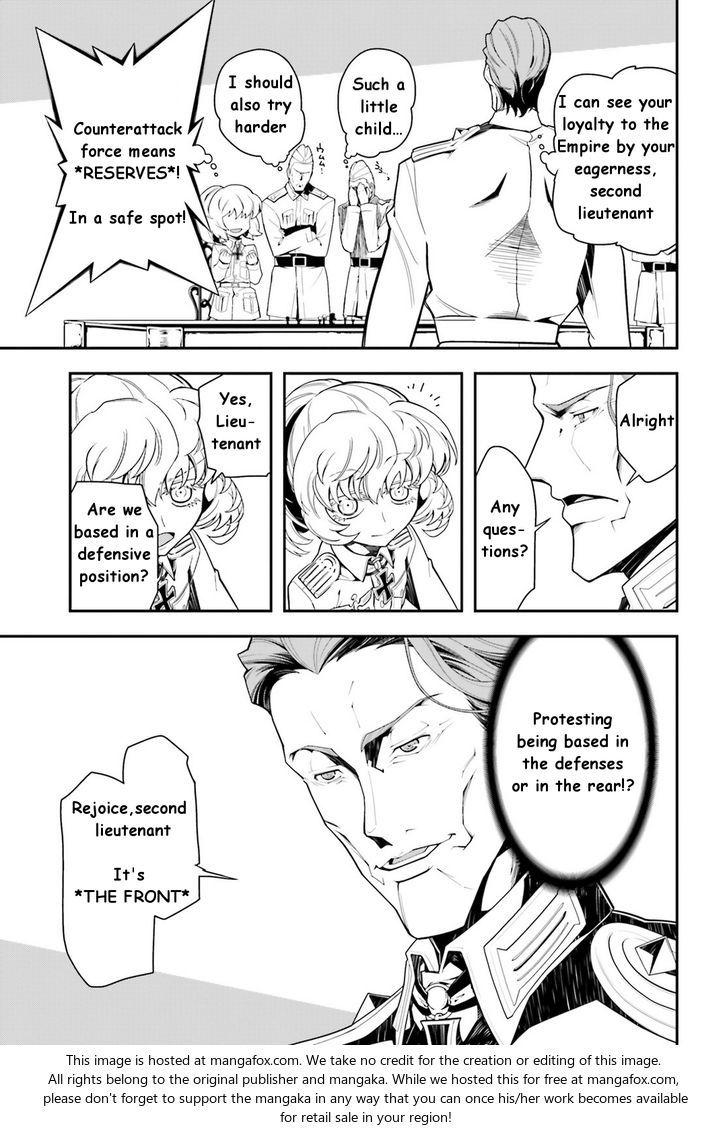 Youjo Senki Manga cute, Tanya the evil, Evil anime