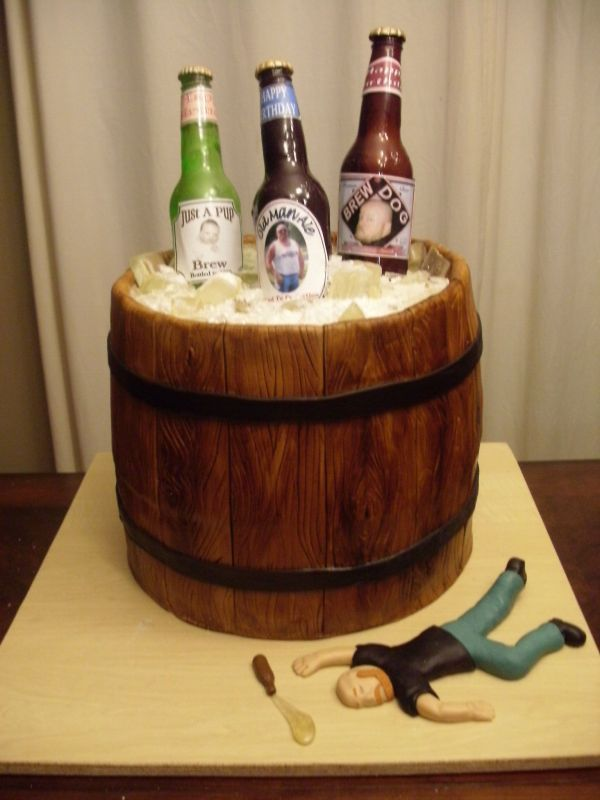 Beer Bottle Theme Cake Is Perfect For Celebrating Any Momentous Occasion Whether It A Wedding Or Birthday Party Would Be Truly