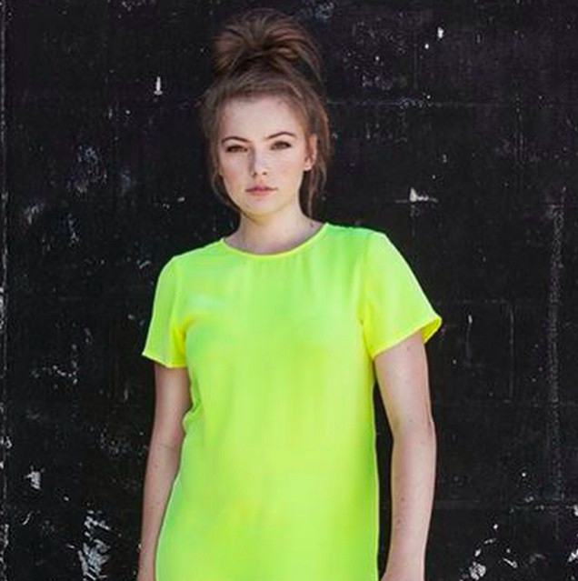 Brighten up your winters day in our citrus frill dress! available inshore at wanderer. www.hannahclaire.co.nz