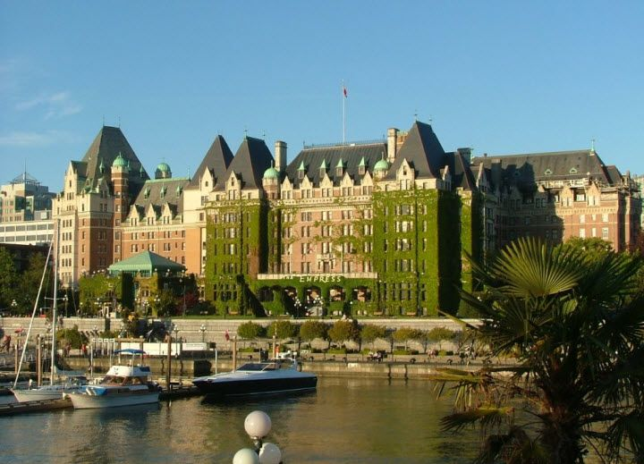 The Empress Hotel In Victoria British Columbia We Stayed Here Several Years Ago It Is One Of My Favorite Hotels Entire World High Tea Heaven