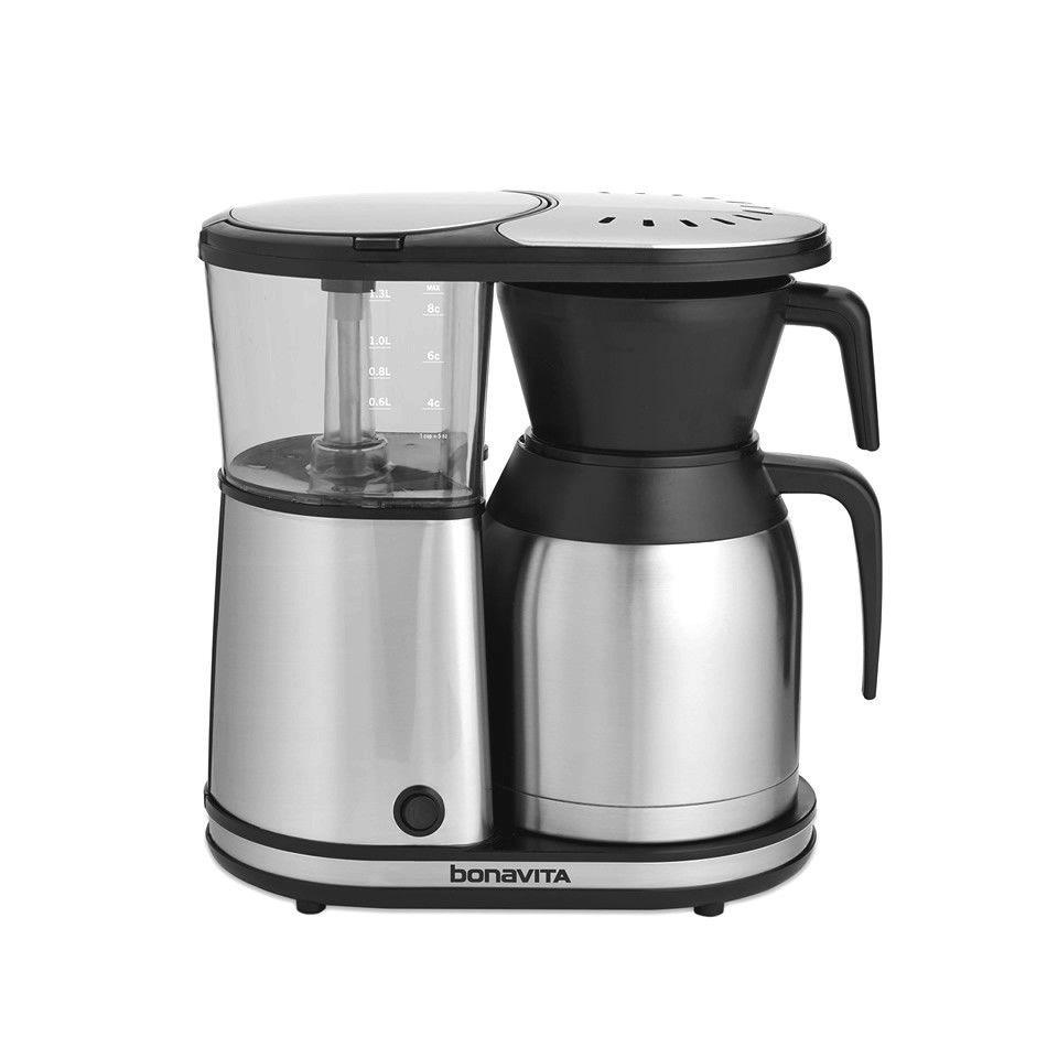Bonavita 8cup stainless steel carafe coffee brewer best