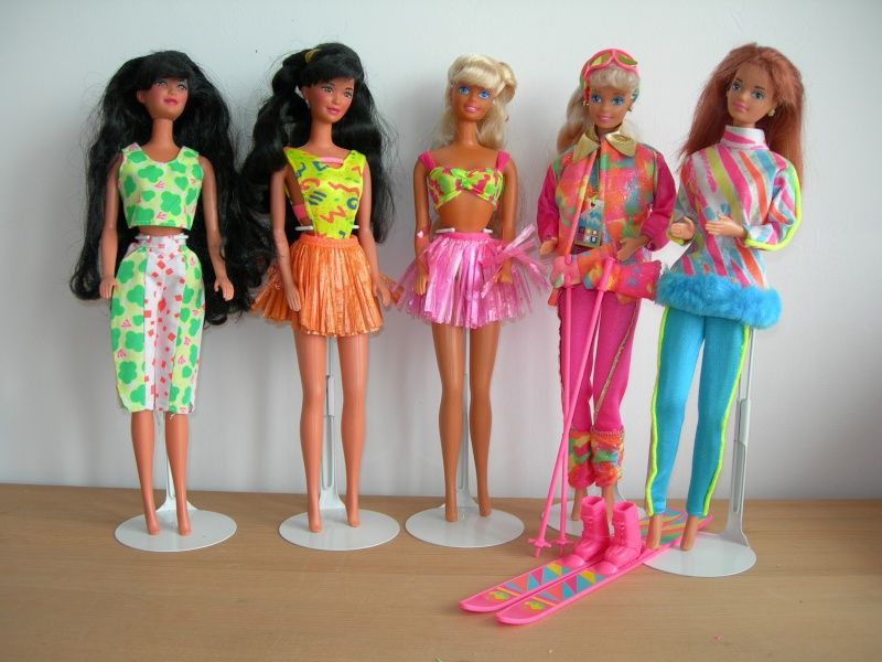 1990s Barbies I Had Hawaiian Fun Barbie In The Middle