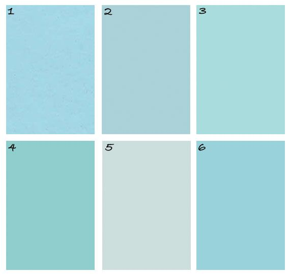 Tiffany Blue Paint Colors For The Armoire In The Master