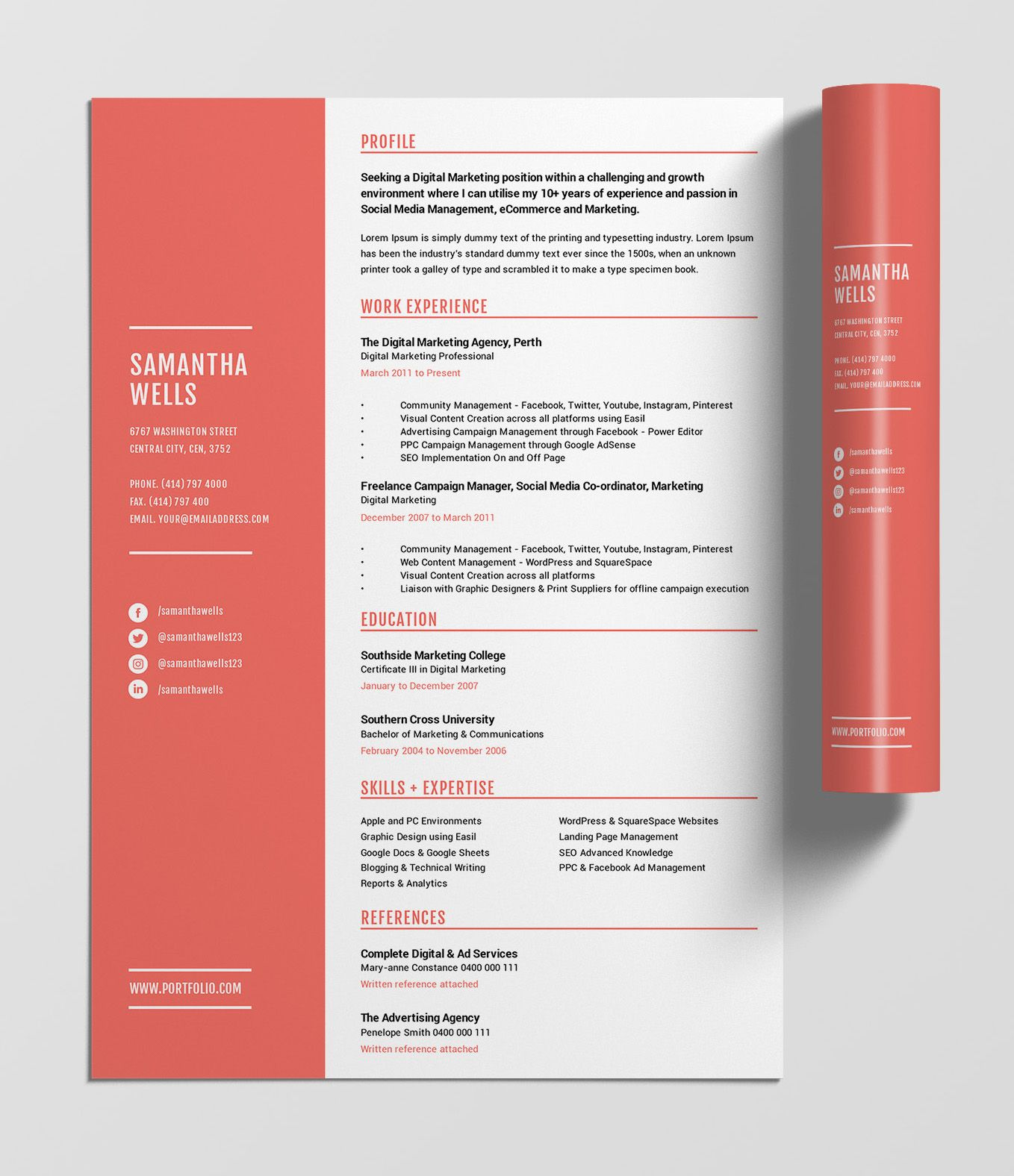 12 Best Free Resume Templates Tips On How To Stand Out In 2020