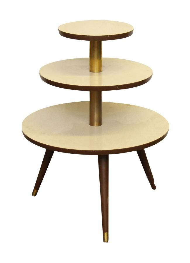 1950s three tier formica table: Architectural Salvage Online Store, Buy  Altered Antiques | OGTstore - 1950s Three Tier Formica Table: Architectural Salvage Online Store