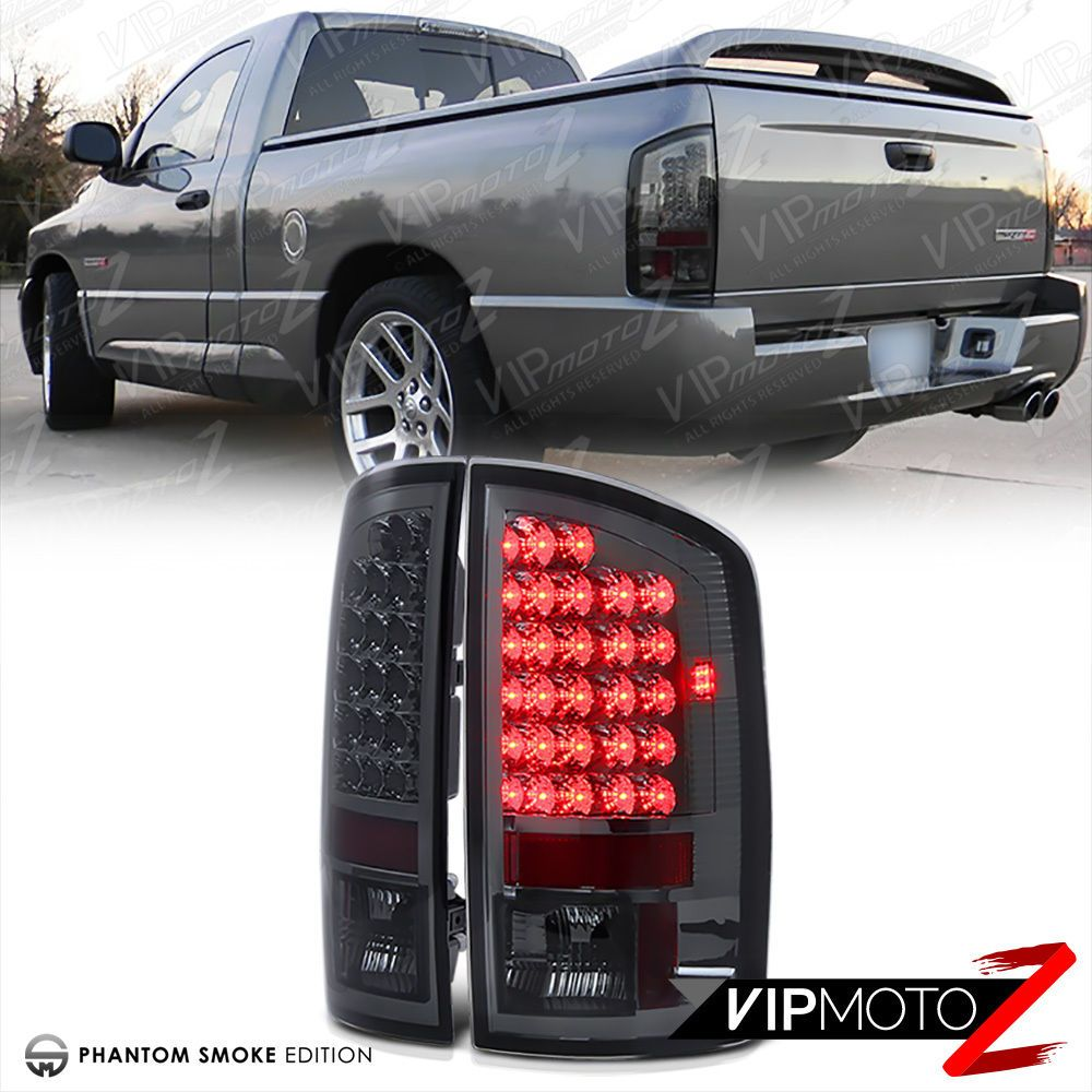 Vipmotoz For Dodge Ram Truck 02 06 Smoke Led Tail Light Brake Lamp Left Right Ebay Dodge Ram Dodge Trucks Ram Dodge