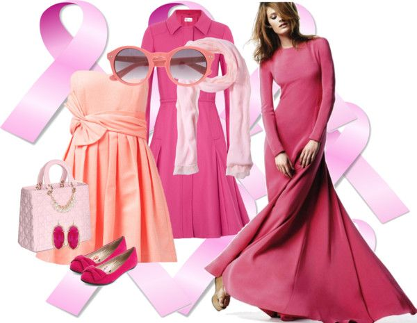 """""""Pink"""" by theladysbug ❤ liked on Polyvore"""