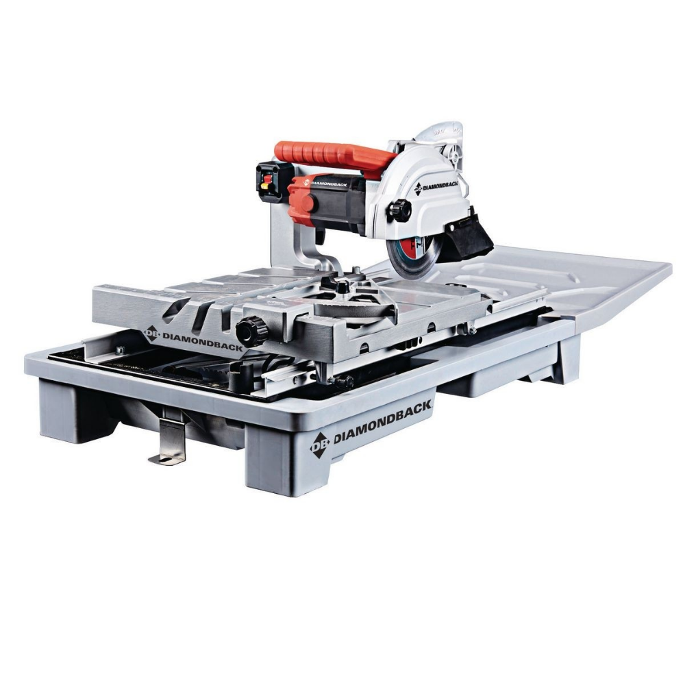 7 In Heavy Duty Wet Tile Saw With Sliding Table In 2020 Tile Saw Industrial Water Pumps Sliding Table