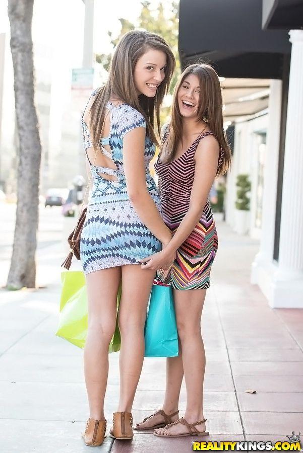 Malena Morgan Shyla Jennings Lesbian Natural Beauty Beautiful Ladies Lesbians