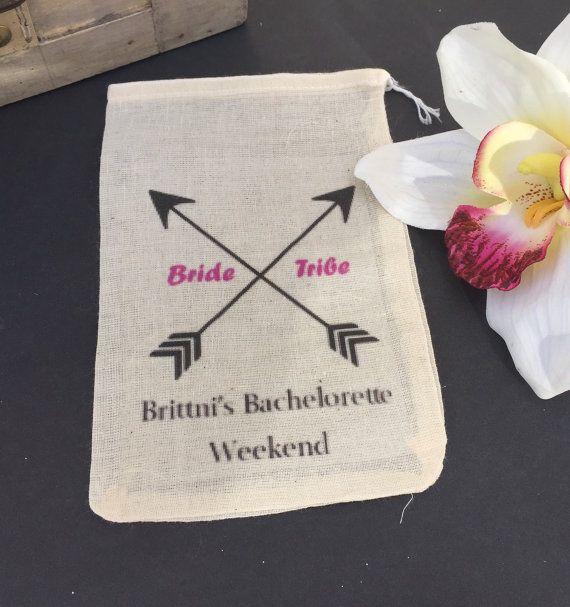 10 bachelorette survival kit drawstring bags, bachelorette party favor bags, bachelorette hangover kits, bride tribe hangover bags