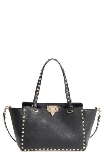 80aa80efcc Choose to purchase VALENTINO GARAVANI Rockstud Leather Tote | Womens ...