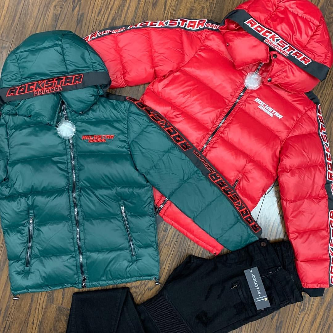 Clothing Town On Instagram All New Rockstar Puffer Jacket S 3x Limited Exclusive Holidays Drop Don T Sleep Will Fly Fast Puffer Jackets Jackets Clothes [ 1080 x 1080 Pixel ]