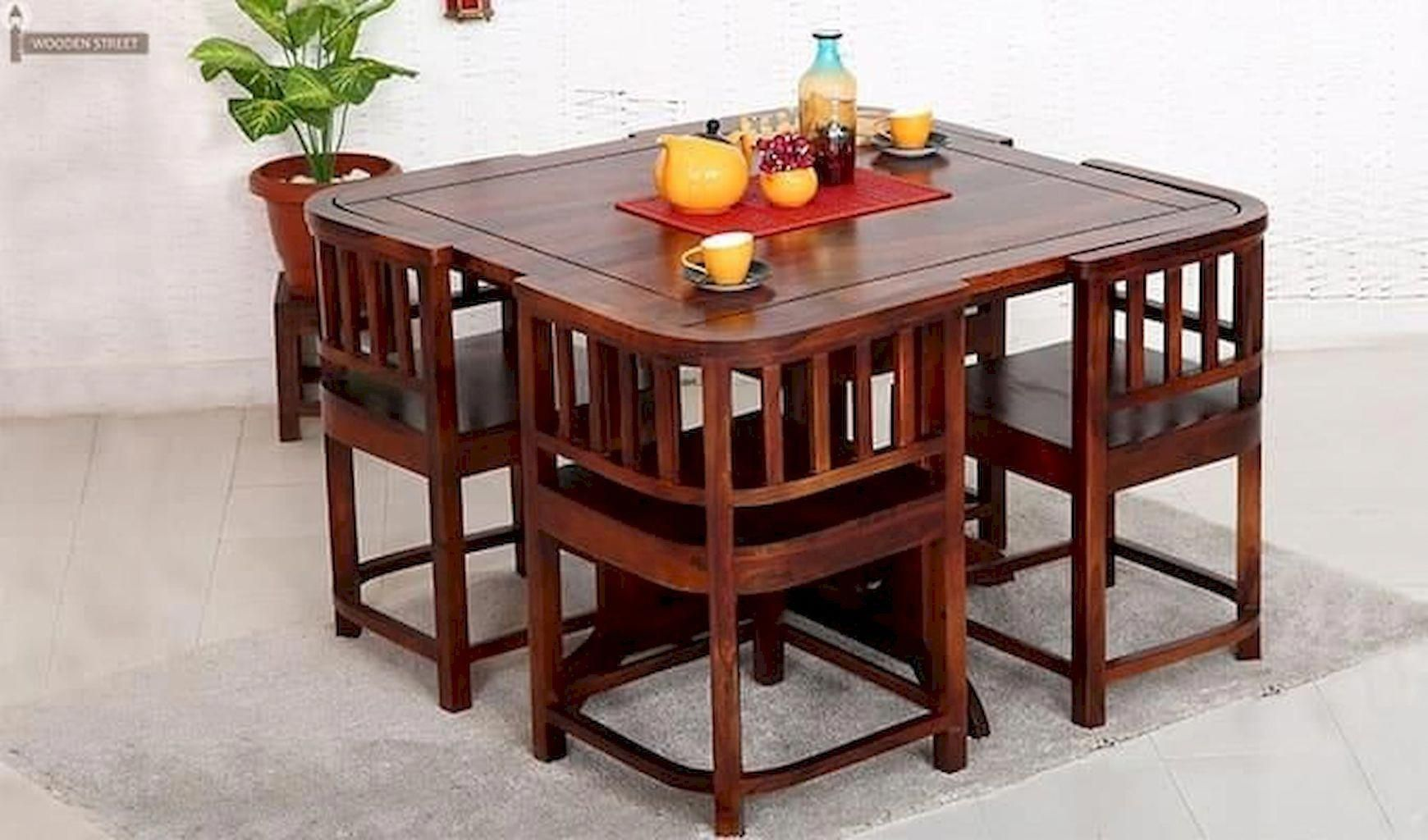 27+ Small dining table with chairs that fit underneath Ideas