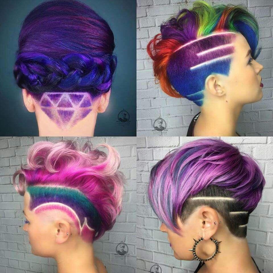 Pin by erika tompkins on hair pinterest undercut hair coloring