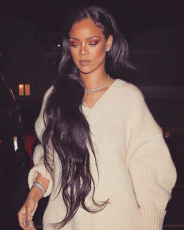 Rihanna S Hairstyle Inspo Rihanna Hairstyles Long Hair Styles Body Wave Hair