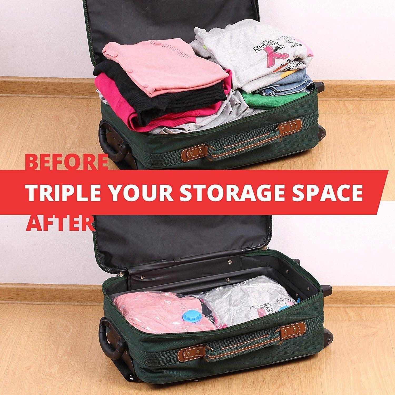 These Premium Jumbo Vacuum Storage Bags Triple Your Storage Space