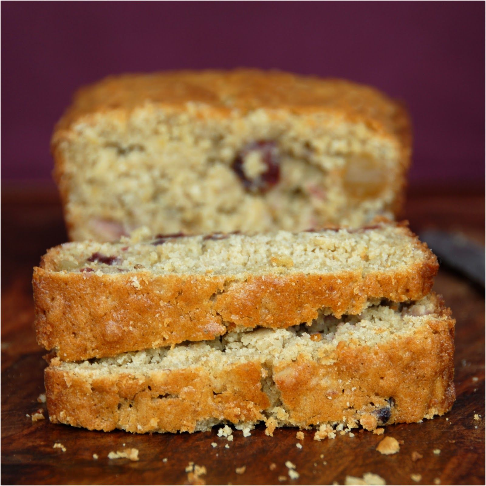kumquat: Cranberry Cardamom Tea Bread