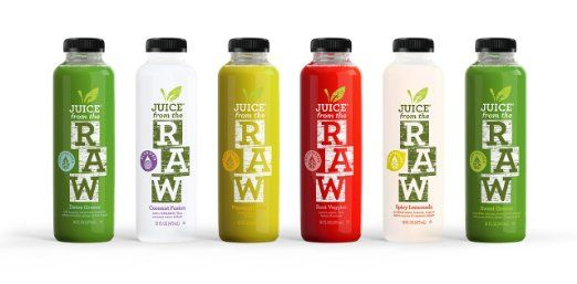 Juice From the Raw 3 Day ORGANIC Juice Cleanse - Whenever Cleanse - new blueprint cleanse video