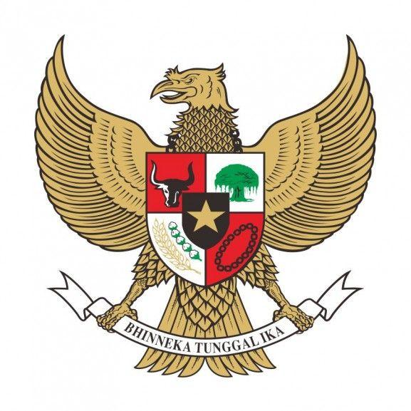 Download Logo Berformat Vector Corel Draw Ai Eps Wmv Illustrator Dan Pdf Coat Of Arms Indonesia Emblems