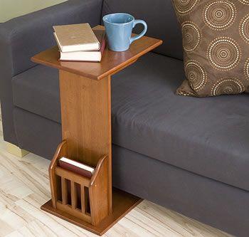 Versatile Snack Table A Nice Alternative To A Coffee Table For Small Spaces Also Can Be Found Diseno De Muebles Decoracion De Muebles Muebles Y Accesorios