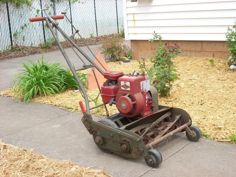 300 Garden Walk: Advice On Old Trimmer Reel Mower....