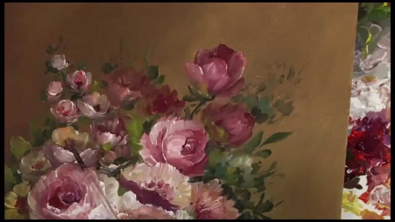 Vase of Flowers Preview DVD1058 - YouTube