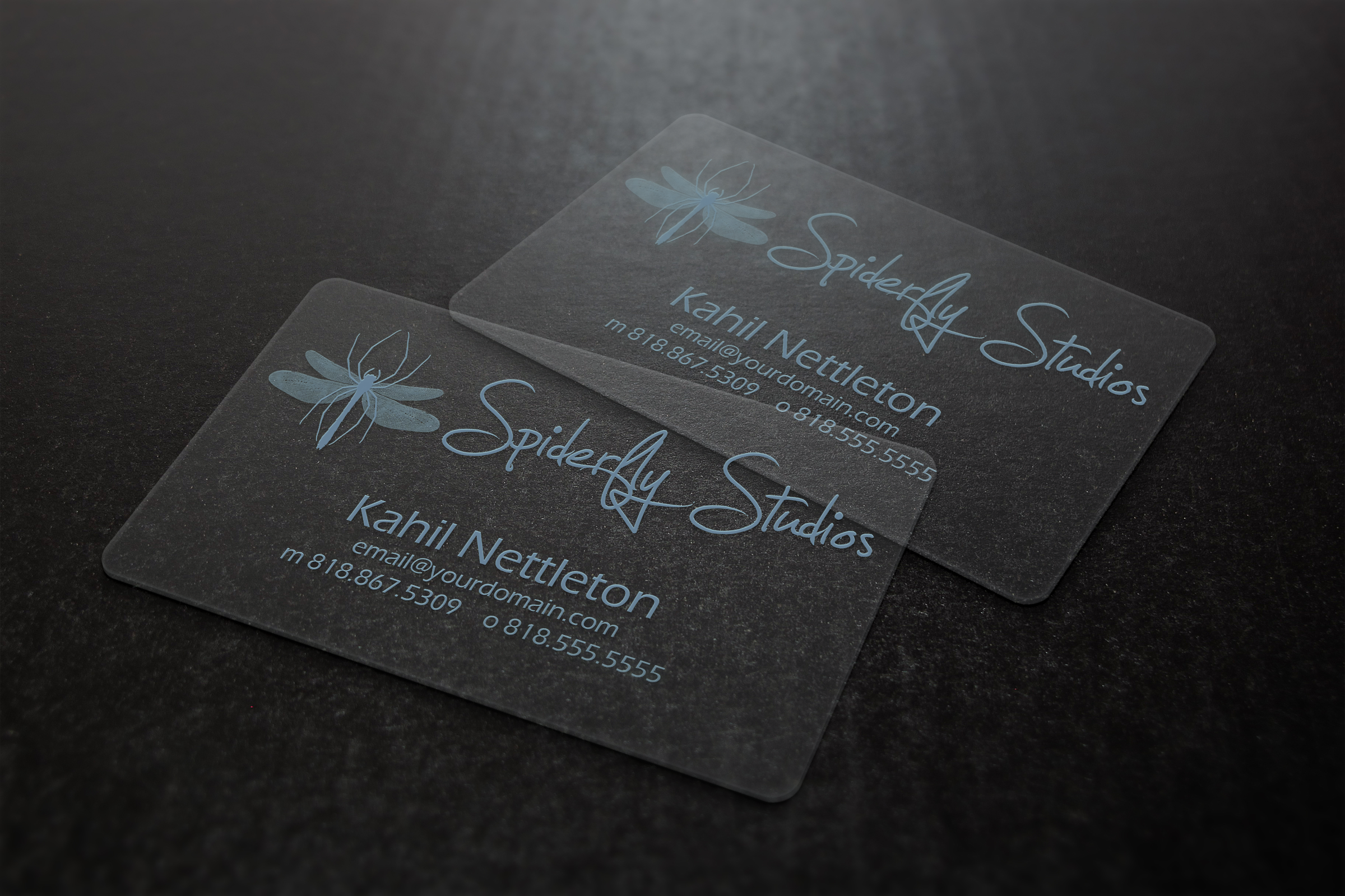 Plastic Business Cards Mockup Image collections - Card Design And ...
