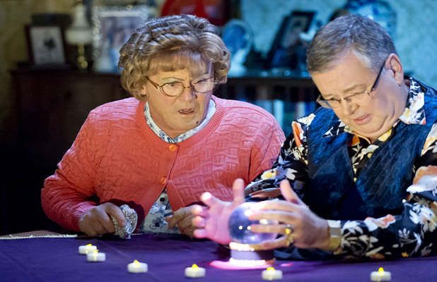 Classic Comedy: Mrs. Brown Has a Psychic Experience!