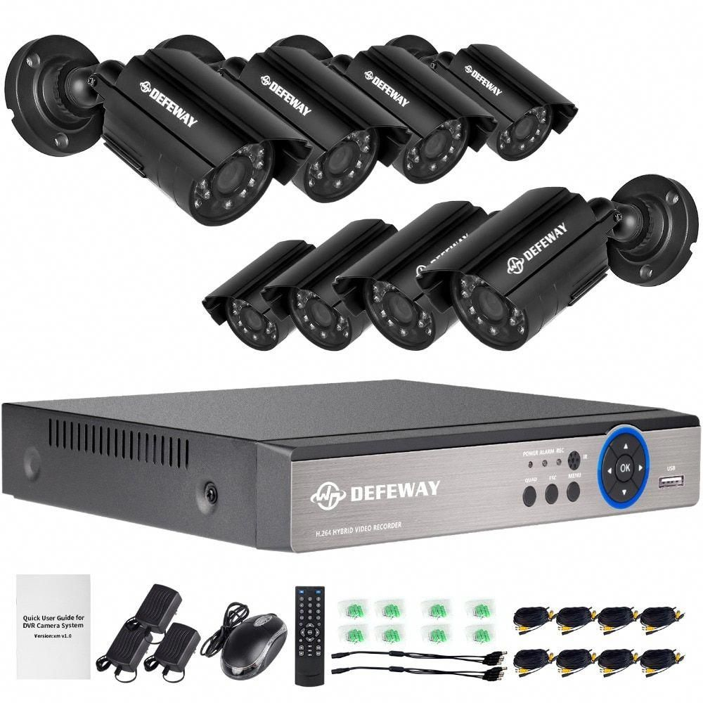 Zosi 8channel 720p Cctv Surveillance System1080n Ahd Dvr Recorder With 4 10 Home Security Camera Systems Wireless Security Camera System Security Camera System
