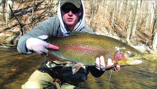 Bill Cochran: Cold-weather outing produces trophy trout
