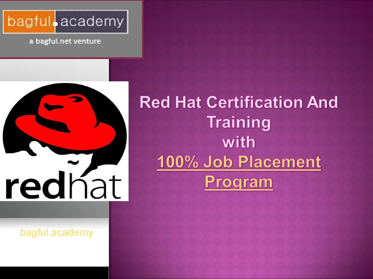 job placement certification hat offers program issuu bagful academy redhat certificate
