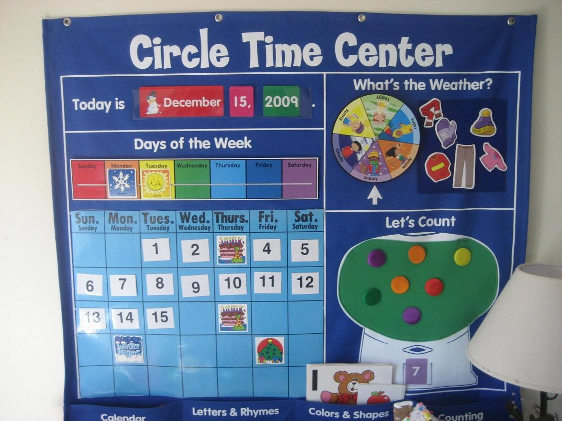 Calendar Time For Young Children Is Up For Debate The