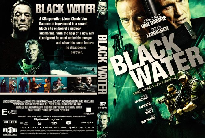 Black Water 2018 Dvd Custom Cover Download Cover Design Cover